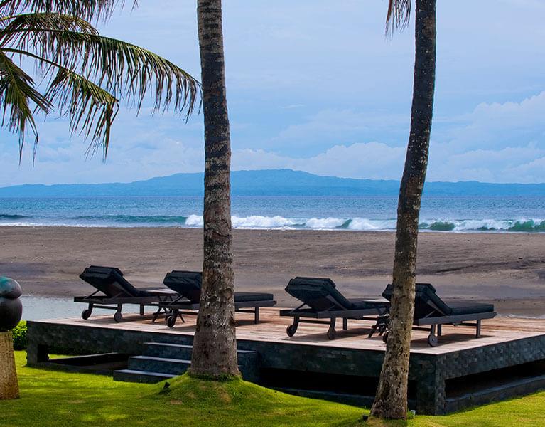 Location The Ylang Ylang Ketewel 6 Bedroom Beachfront Villa Bali